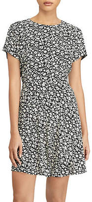 Polo Ralph Lauren Short-Sleeve Fit-and-Flare Dress