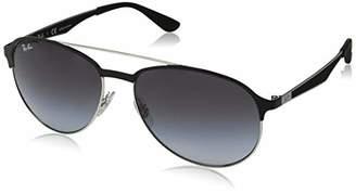 Ray-Ban Men's 0rb3606 Non-Polarized Iridium Aviator Sunglasses