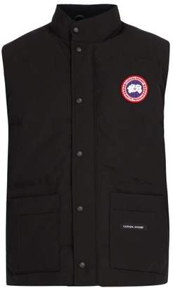 Canada Goose - Freestyle Crew Quilted Down Gilet - Mens - Black