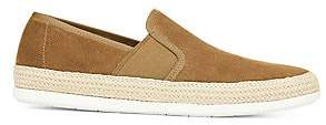 Vince Men's Chad Slip-On Perforated Suede Espadrille Sneakers