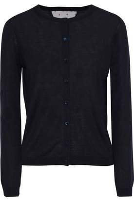 RED Valentino Point D'espirit-Trimmed Cashmere And Silk-Blend Cardigan