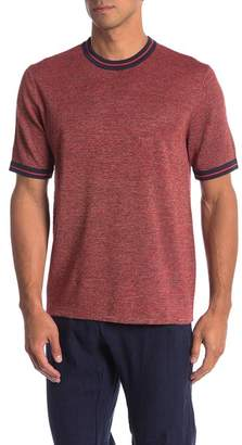 Perry Ellis Knit Ringer Tee