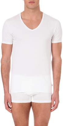 Derek Rose Jack v-neck cotton t-shirt