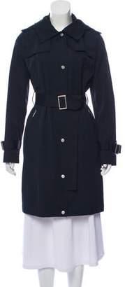 MICHAEL Michael Kors Short Belted Coat