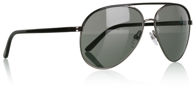 Tom Ford Black Silvano Aviators