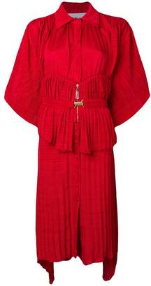 Couture Atu Body belted shirt dress