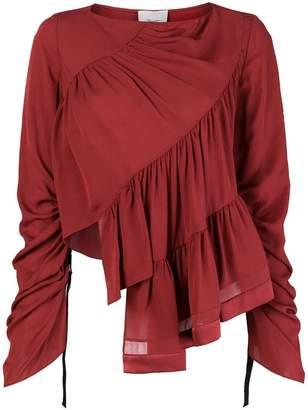3.1 Phillip Lim ruffled longsleeved blouse