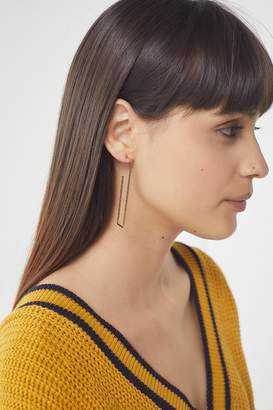 Urban Outfitters Geometric Hoop Earring