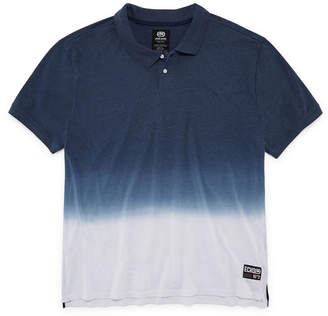 Ecko Unlimited Unltd Easy Care Short Sleeve Ombre Jersey Polo Shirt Big and Tall