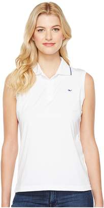 Vineyard Vines Golf Renee Sleeveless Polo Women's Clothing