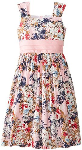 Jayne Copeland Big Girls' Floral Print Dress
