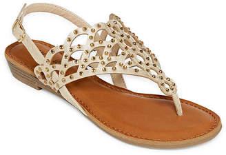 Zigi Womens Maysie Slingback Strap Flat Sandals