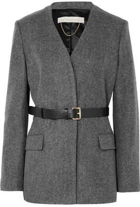 Vanessa Bruno Jacinta Belted Wool Blazer - Anthracite
