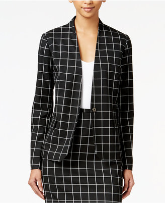 Tommy Hilfiger Windowpane Jacket $129 thestylecure.com