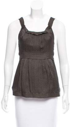 Marc by Marc Jacobs Sleeveless Silk Top w/ Tags