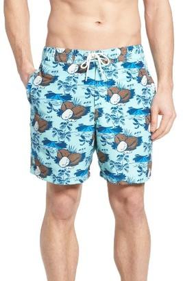 Men's Rodd & Gunn Clarks Beach Swim Trunks $98 thestylecure.com