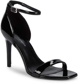 BCBGeneration Irina Patent Stiletto-Heel Sandals