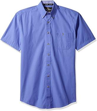 Wrangler Men's Size George Strait Tall Short Sleeve Button Front Shirt
