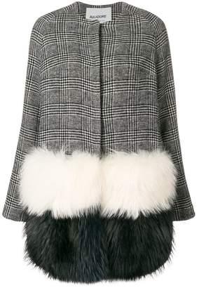 Ava Adore Peony check coat