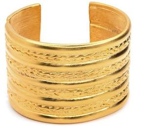 Kenneth Jay Lane Braid Design Cuff Bracelet