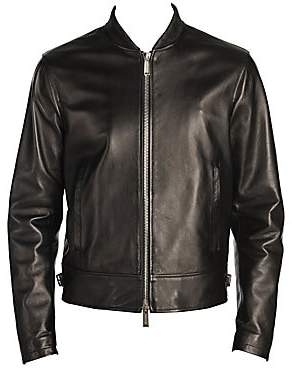 DSQUARED2 Men's Zippered Moto Jacket