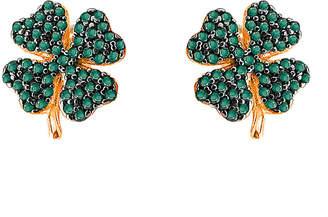 GABIRIELLE JEWELRY Clover Cz Earrings