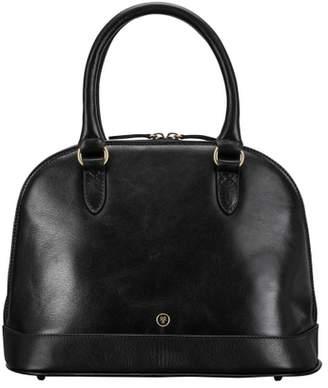 At Harvey Nichols Maxwell Scott Bags Classic Black Italian Leather Handbag For Women