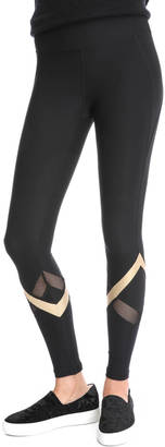 Gottex Gold Tapered Active Leggings $78 thestylecure.com