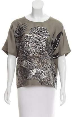 Hermes Silk Oversize Top