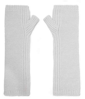 Johnstons of Elgin Cashmere Wristwarmers - Off-white