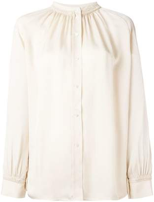 Vince pleated collar blouse