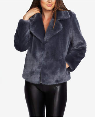 1 STATE 1.state Faux-Mink Coat
