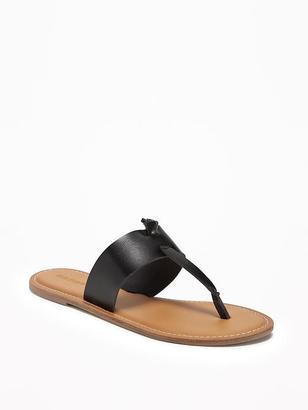 T-Strap Slide Sandals for Women $24.94 thestylecure.com