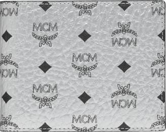 MCM Bifold With Card Case In Visetos Original
