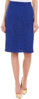 Escada Silk-Lined Pencil Skirt