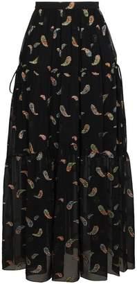 Chloé Paisley maxi skirt