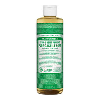 Dr. Bronner's Dr. Bronner Castile Liquid Soap - Almond 473ml