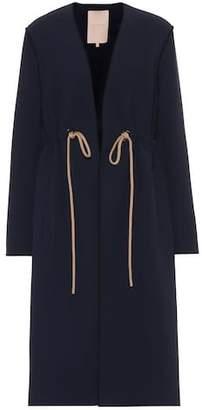 Roksanda Fleur crêpe coat