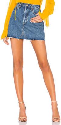 A Gold E AGOLDE Quinn Skirt.