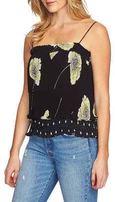 1 STATE 1.STATE Mixed Print Pleated Camisole