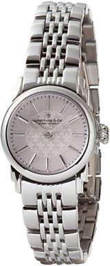 Dreyfuss & Co Women's Mother Of Pearl Dial Bracelet Strap Watch