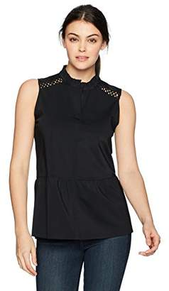 0983b5779bc95 at Amazon.com · Lysse Women s Cecily Sleeveless Button Down Top