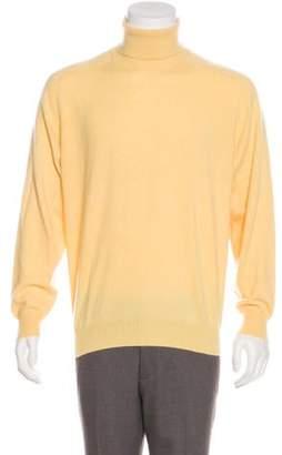 Brunello Cucinelli Cashmere Turtleneck Sweater yellow Cashmere Turtleneck Sweater