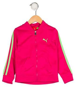 Puma Girls' Zip-Up Track Jacket