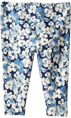 Ralph Lauren Floral Stretch Jersey Leggings Girl's Casual Pants