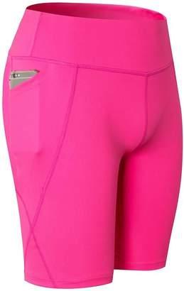 Forart Women Summer Yoga Sport Short Pants Fitness Gym Running Pants Qucik Dry Trousers