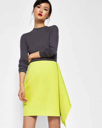 Ted Baker JINIE Asymmetric frill pencil skirt