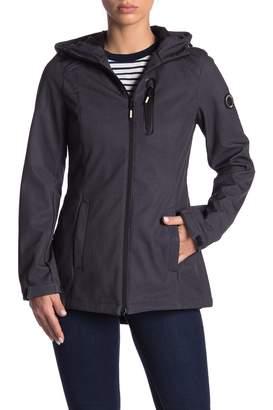 Nautica Short Soft Shell Hooded Jacket