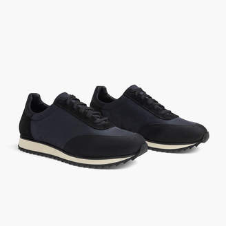 James Perse SYCAMORE LACE-UP NYLON RUNNER - WOMENS