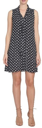 Women's Cece Daisy Dot Swing Dress $129 thestylecure.com
